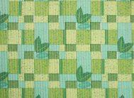 7147 Напольная дорожка  (зел.беж/квад.лист.), шир 65см*15м