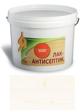 ЛАК-АНТИСЕПТИК деревозащитный состав цвет: белый 0,9 л (уп.12 шт.)