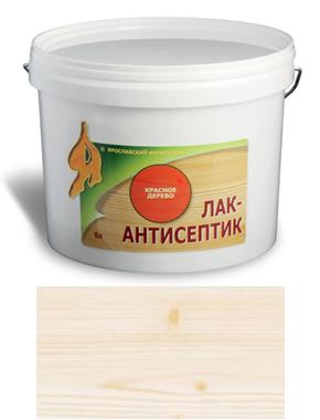 ЛАК-АНТИСЕПТИК деревозащитный состав цвет: бесцветный 9 л (уп.1 шт.)