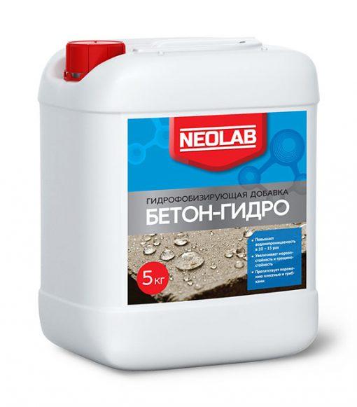 БЕТОН-ГИДРО гидрофобизирующая добавка  10 кг (уп.2 шт.) NEOLAB