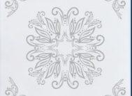 Плитка потол.лам/цв Солид С527/42 серебро (уп.168шт.)
