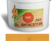 ЛАК-АНТИСЕПТИК деревозащитный состав цвет: дуб 0,9 л (уп.12 шт.)