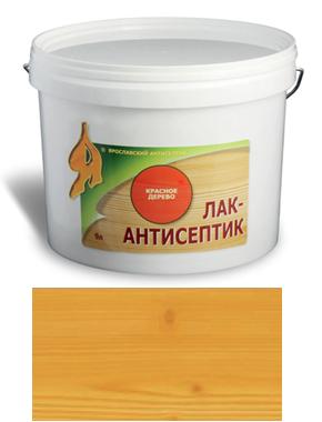 ЛАК-АНТИСЕПТИК деревозащитный состав цвет: дуб 2,5 л (уп.4 шт.)