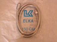 Душевой шланг  ELKA  150см внутр.шланг PVC двойной замок (имп-имп)