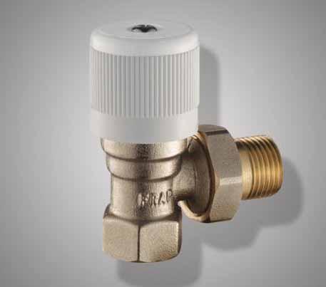 FR 409-1/2 Кран для радиатора гш угол. ФРАП