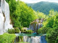 "Фотообои 8 листов ""Каскад водопадов Х5 ""Люкс"" ТП (194*272)"