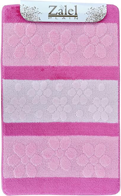Набор ковриков Залел (2предмет) 60*100/50*60см фиолет./роз.