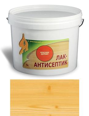 ЛАК-АНТИСЕПТИК деревозащитный состав цвет: лимонное дерево 0,9 л (уп.12 шт.)