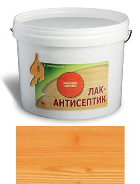 ЛАК-АНТИСЕПТИК деревозащитный состав цвет: лиственница 0,9 л (уп.12 шт.)