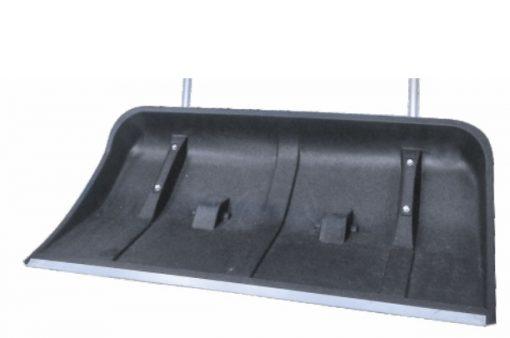 Лопата (движок) для снега 820*450 пласт. на колес. в сборе с мет.ручкой №8