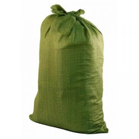 Мешки д/мусора полипропилен (зел.) (упак. 100шт.)