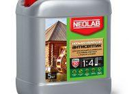 Антисептик НЕВЫМЫВАЕМЫЙ концентрат 1:4 (5 кг) (уп.4 шт.) NEOLAB
