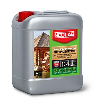 Антисептик НЕВЫМЫВАЕМЫЙ концентрат 1:4 (1 кг) (уп.9 шт.) NEOLAB