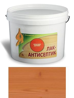 ЛАК-АНТИСЕПТИК деревозащитный состав цвет: орех 0,9 л (уп.12 шт.)