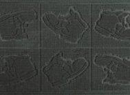 Коврик PIN MAT 40*60 (ботинки)