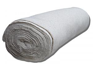 Полотно холстопрошивное ш. 0,75  (пл.180-200) (рулон 50м) БЕЛОЕ