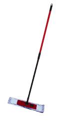Швабра Залел Р-214 плоская насадка микрофибра бел-син