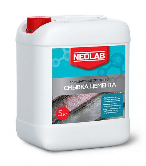 СМЫВКА ЦЕМЕНТА очищающее средство 1 кг (уп.9 шт.) NEOLAB