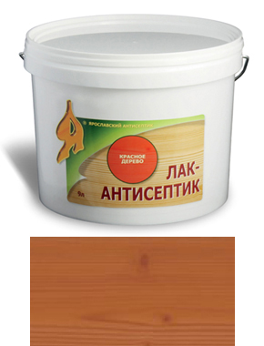 ЛАК-АНТИСЕПТИК деревозащитный состав цвет: тик 9 л (уп.1 шт.)