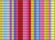 V13 Напольная дорожка  (синий.желт.крас/полос), шир 65см*15м