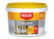 Акриловая супербелая краска ФАСАДНАЯ ВД-АК-1180 45 кг (уп.1 шт.) NEOLAB
