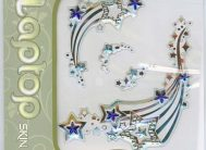 Стикер 1901 Звезды. Наклейка для ноутбуков