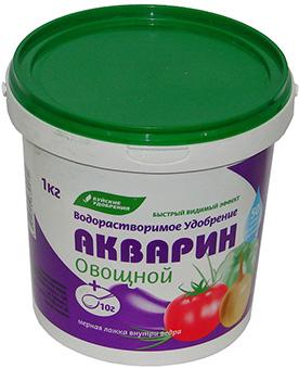 Акварин 1кг Овощной  (12 шт.)
