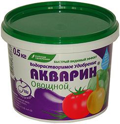 Акварин 500г Овощной  (12 шт.)