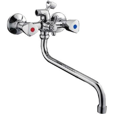 F-2211 Смеситель д/ванны хром Фрап