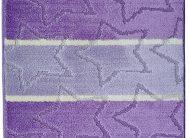 Набор ковриков Залел (2предмет) 60*100/50*60см сирень/беж.