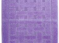 Набор ковриков Залел (1предмет) 55*85-90см фиолет.