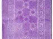 Набор ковриков Залел (2предмет) 55*90/45*55 фиолетовый