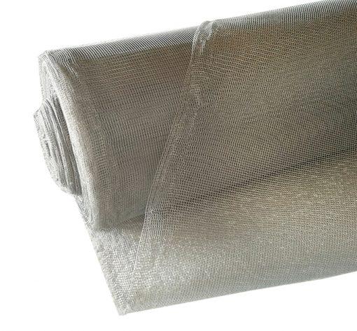 Сетка  антимоскитная шир.150см (рулон 50м) сер.