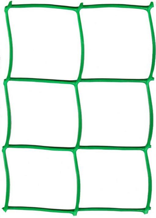 Сетка для плетистых роз Ф-90 (1х5м) ячейка 95х90мм зел/хаки