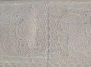 Скатерть ТR-653 бел. (138*20)
