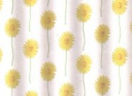 Штора для в/к полиэстр.эконом 1171 (желт.)170-180*200