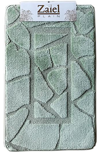 Набор ковриков Залел (2предмет) 55*90/45*55 зел.
