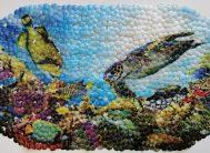 Спа-коврик для в/к 66х37см 6637 (Дно океана)