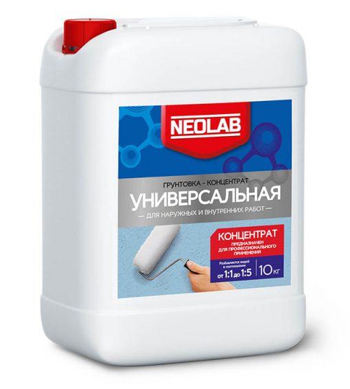 Грунтовка-концентрат универсальная 1:5 10 кг NEOLAB