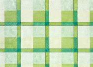 Клеенка Колорит на тк.осн. 109/3 шотландка зел.(1.26х25м)