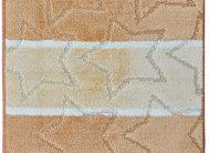 Набор ковриков Залел (2предмет) 60*100/50*60см теракот./оранж.