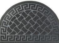Коврик PIN MAT 40*60 (мостовая) полукруг